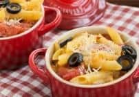 Spicy Penne with Tomatoes and Havarti