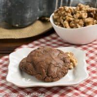 Chocolate Walnut Toffee Cookies