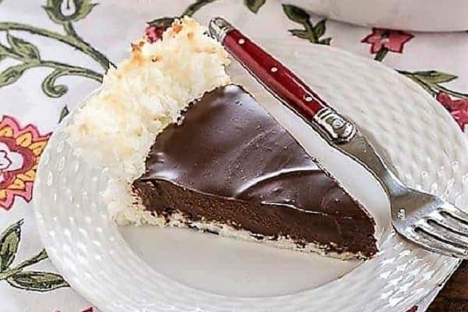 Coconut Crusted Chocolate Ganache featured image