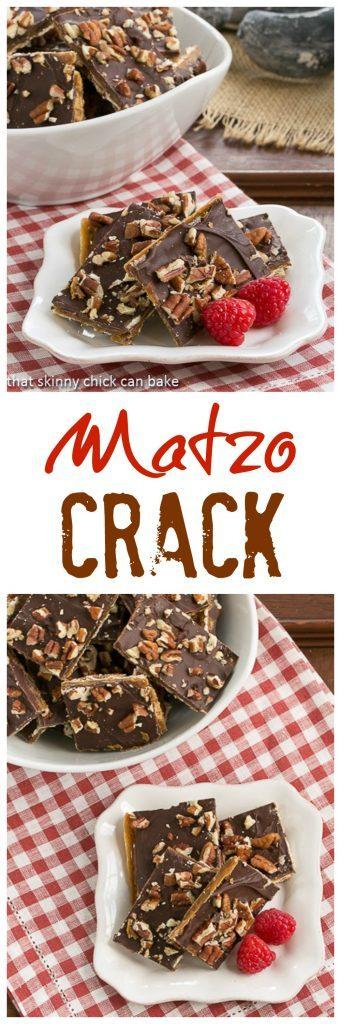 Matzo Crack - An addictive toffee treat!