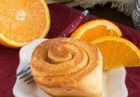 Orange Marmalade Filled Sweet Rolls
