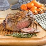 Glazed Leg of Lamb with Garlic and Rosemary
