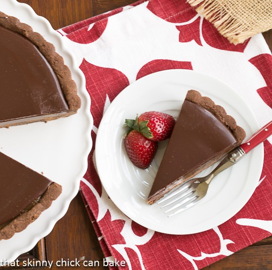 Chocolate Caramel Tart - A sublime pairing of chocolate and caramel!