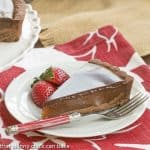 Chocolate Caramel Tart #SundaySupper