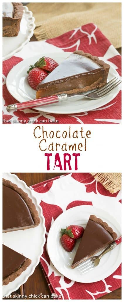 Chocolate Caramel Tart | A sublime pairing of chocolate and caramel!