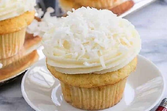 Coconut Cupcakes with Cream Cheese Frosting featured image