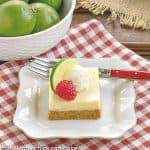 Key Lime Pie Bars #SkinnyTip