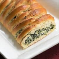 Spinach Onion Braid featured image