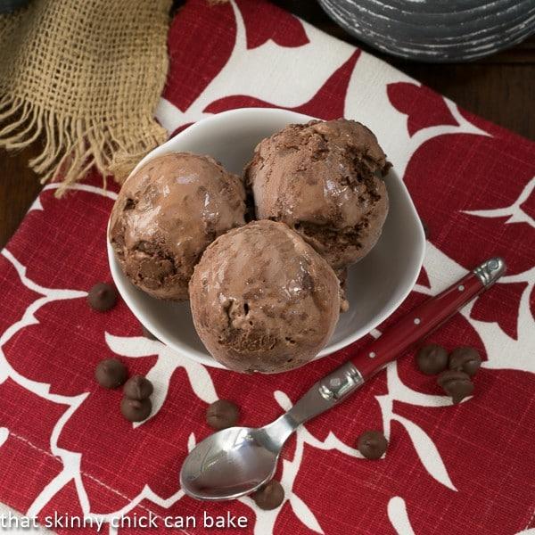 Chocolate Truffle Ice Cream | The BEST chocolate ice cream!
