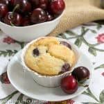 Double Cherry Muffins #TwelveLoaves #SkinnyTip