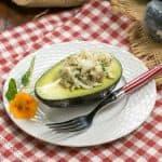 """Crab-Avocado """"Ravioli"""" #FrenchFridayswithDorie #SkinnyTip"""