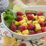 Raspberry Mango Salsa #SkinnyTip