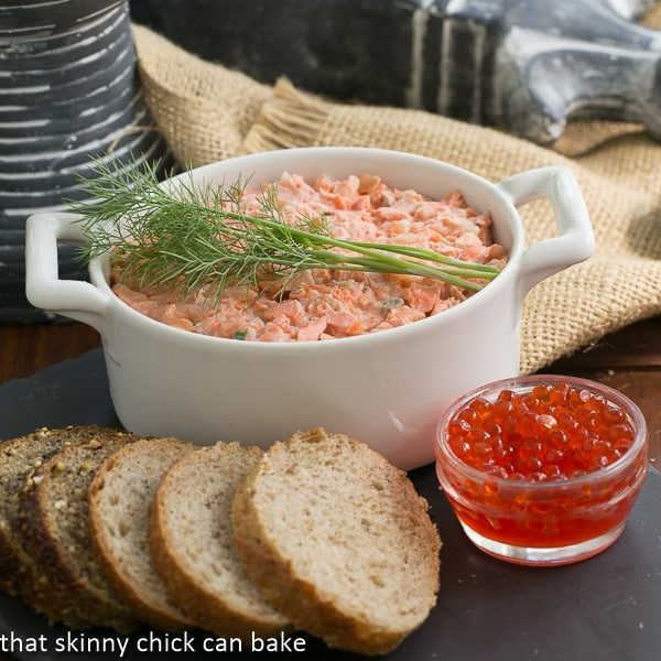 Salmon Rillettes #FrenchFridayswithDorie #SkinnyTip