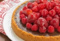 Berry Topped Chocolate Silk