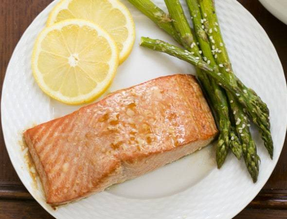 Grilled Cedar Plank Salmon | Salmon Recipe | That Skinny Chick Can Bake
