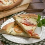 Pizza Margherita #WeekdaySupper #ChooseDreams