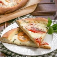 Pizza Margherita   Simple ingredients create an outstanding pizza!