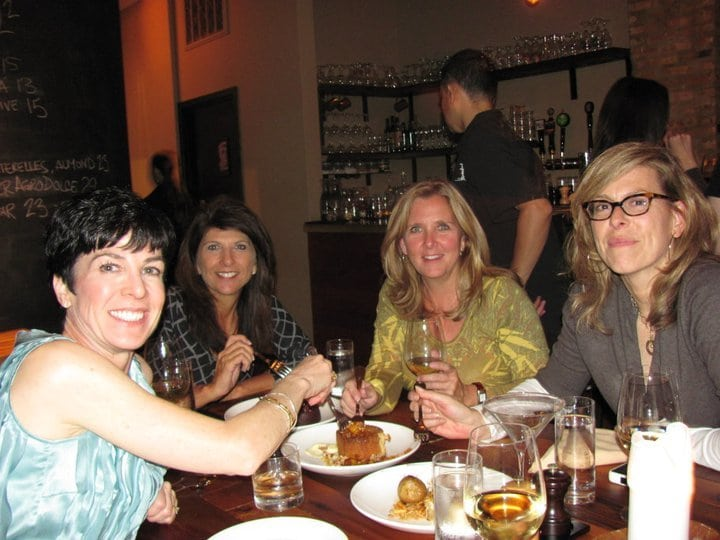 The Bristol Chicago with college friends
