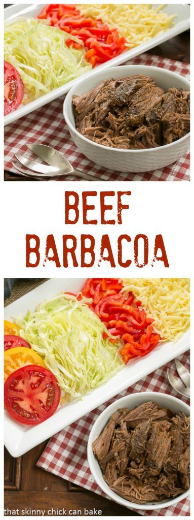 Beef Barbacoa | Amazing barbecue beef in the slow cooker!
