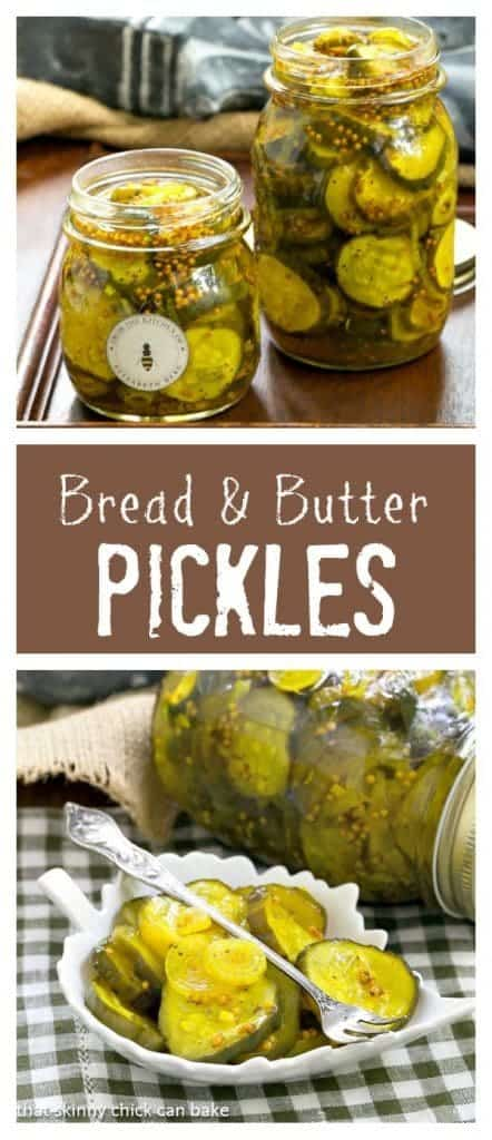 Bread and Butter Pickles | Easy refrigerator pickles just like my mom used to make!