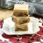 Caramel Frosted Butterscotch Bars