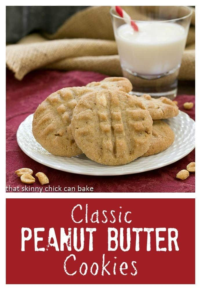 Classic Peanut Butter Cookies | Perfect in every way: the snap, the flavor, the texture!