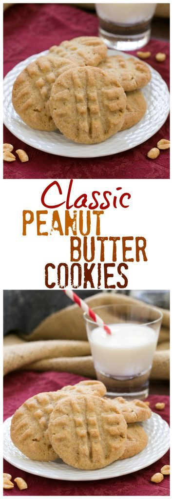 Classic Peanut Butter Cookies - An exquisite cookie with the perfect snap and a bit of texture from extra chunky peanut butter!