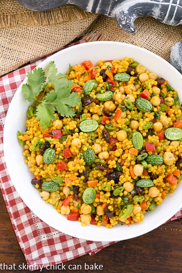 Couscous Salad - Dorie Greenspan's delicious recipe for a Moroccan inspired dish