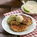 Crab Cakes with Cilantro Lime Aioli