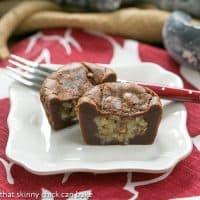 German Chocolate Brownie Cupcakes