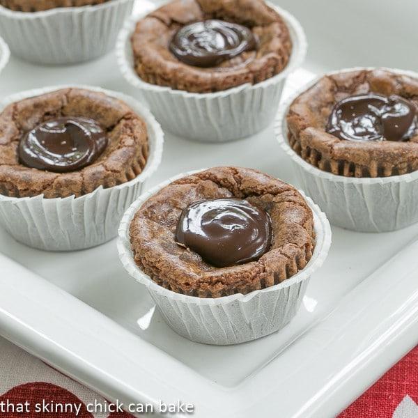 German Chocolate Brownie Cupcakes (6)