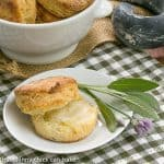 Herbed Buttermilk Biscuits #TwelveLoaves #SkinnyTip