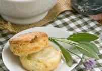 Herbed Buttermilk Biscuits #TwelveLoaves #SkinnyTip