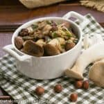 Mushrooms with Napa and Nuts #FrenchFridayswithDorie #SkinnyTip