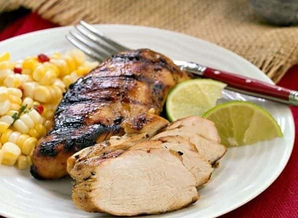Mustard, Garlic, Lime Marinated Chicken Breasts   A fabulous marinade that will turn your chicken into as spectacular meal!