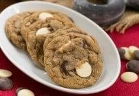 Triple Chocolate Chunk Oatmeal Cookies