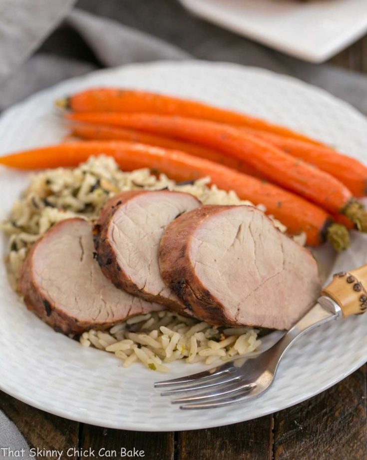 Whiskey Marinated Pork Tenderloin