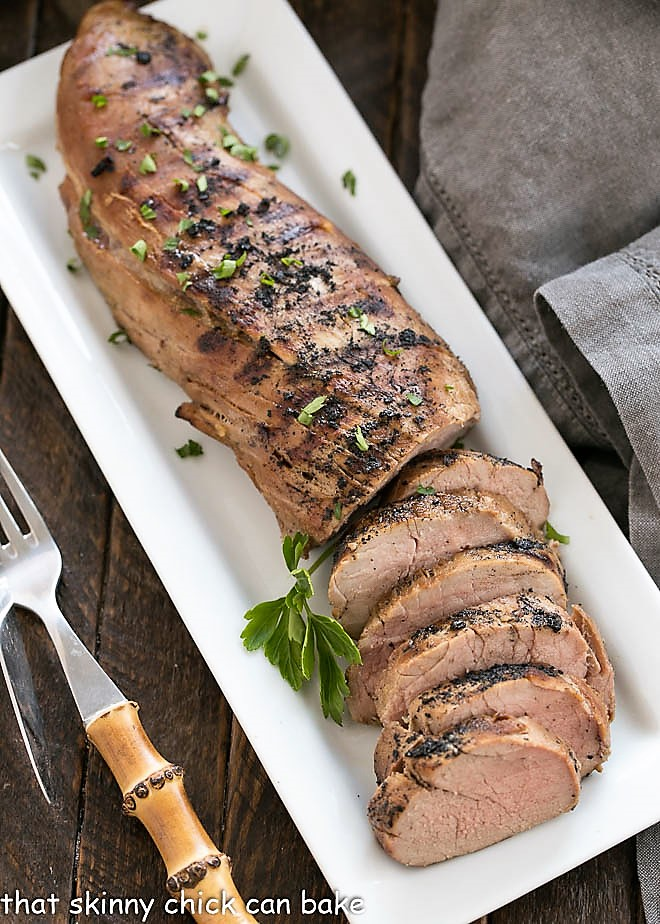Whiskey Marinated Pork Tenderloin | A spectacular pork marinade takes this dish to the next level!