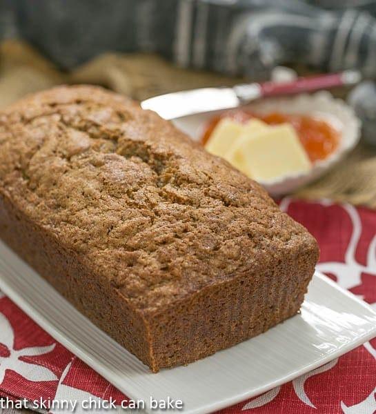Zucchini Bread - Cinnamon Spiced Zucchini Bread Recipe