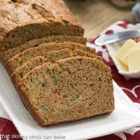 Zucchini Bread | Cinnamon Spiced Zucchini Bread Recipe