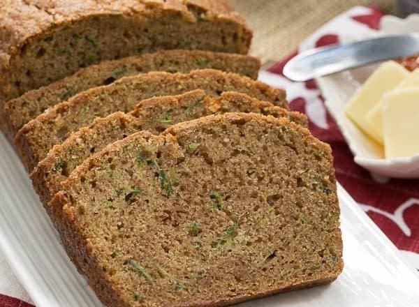 Zucchini Bread   Cinnamon Spiced Zucchini Bread Recipe