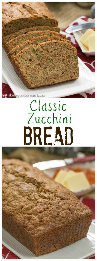 Classic Zucchini Bread | Dense, moist and so hard to resist!