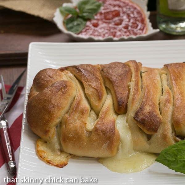 Braided Stromboli  Perfect tailgate dish #SundaySupper