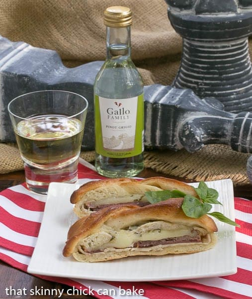 Braided Stromboli   Perfect for your next tailgate