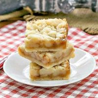 Caramel Butter Bars recipe image