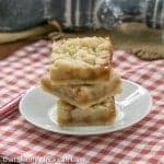 Caramel Butter Bars | Simple flavors with delicious results!
