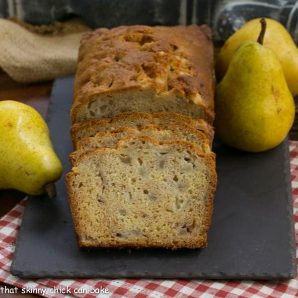 Sour Cream Pear Bread Pear Bread Recipe That Skinny