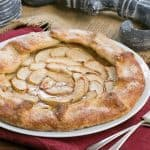 Maple Glazed Apple Tart | A lovely, rustic autumnal dessert