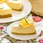 Margarita Cheesecake - perfect summer dessert recipe!