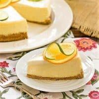 Margarita cheesecake featured image